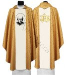 "Gothic Chasuble ""St. Vincent Pallotti"" 720-G16"