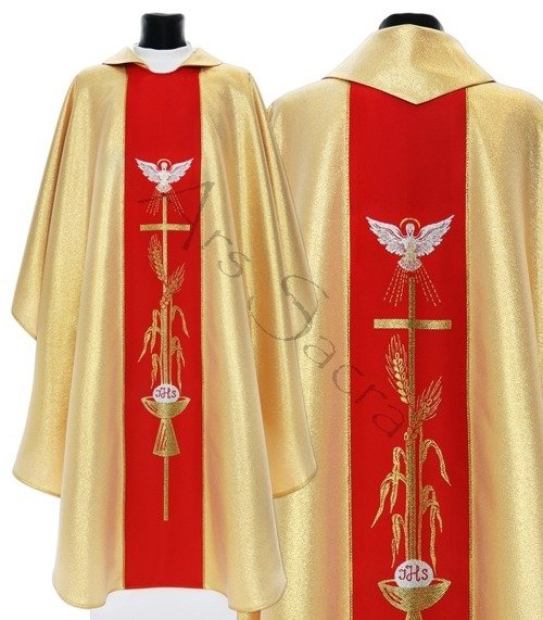 "Gothic Chasuble ""Holy Spirit"" 007-GC"