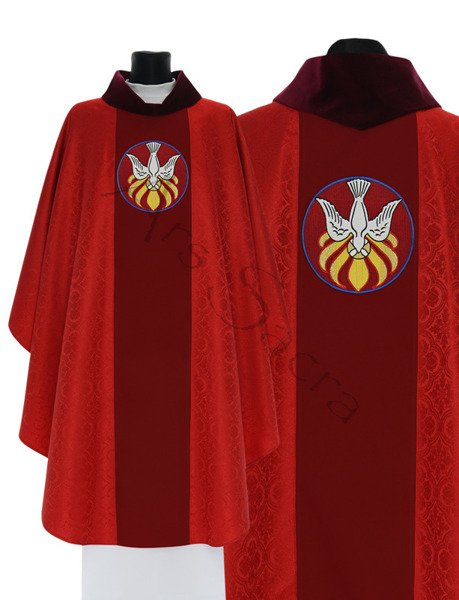 "Gothic Chasuble ""Holy Spirit"" 742-C25g"