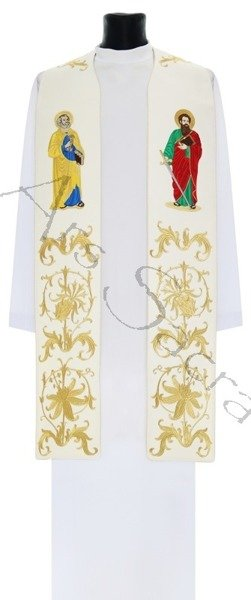 "Gothic stole ""The Apostles Peter and Paul"" SH37-B"
