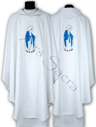 "Marian Chasuble ""Our Lady of Grace"" 610-B"