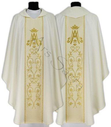 Marian Gothic Chasuble 085-K