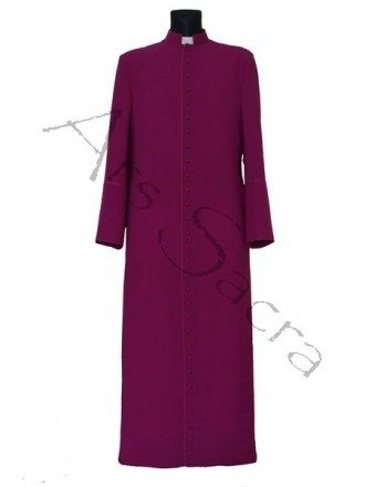 Purple cassock CASS-F
