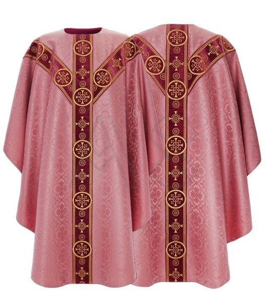 Semi Gothic Chasuble GY579-AR25