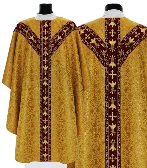 Semi Gothic Chasuble GY660-GC16