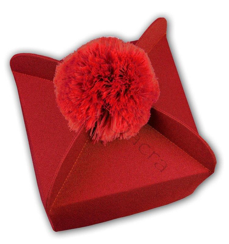 Birreta rojo con 4 esquinas B-5 ES - Ars Sacra
